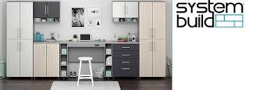 Systembuild Cabinets Amazon Com Systembuild 7473411com Latitude Wall Cabinet Natural