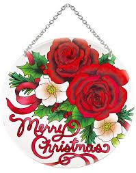 suncatcher lc286r roses merry chr joan baker designs