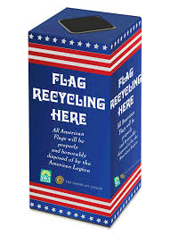 Flag Etiquette Us Flags Solid Waste Authority Of Palm Beach County Fl