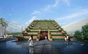 Pavilion Concept Vietnam U0027s Pavilion At Expo 2015 Competition Entry H U0026p Architects