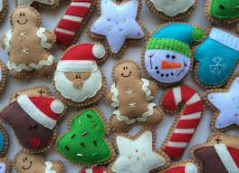 lovable zoom plus felt cookie tree ornaments by