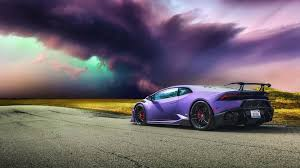 lamborghini purple lamborghini huracan full hd wallpaper and background 1920x1080