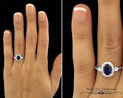 sapphire halo engagement rings beautiful oval cut sapphire and halo engagement ring cr1016