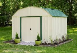 Sheridan Grill Gazebo by Arrow Sheridan 10 Ft 3 In W X 7 Ft 11 In D Metal Storage Shed