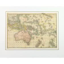 Micronesia Map Map Oceania 1891 Original Art Antique Maps U0026 Prints