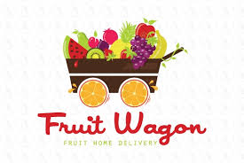 fruit delivery service fruit wagon home delivery service 415 00 by dalia strong logos