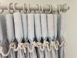 Grey Shabby Chic Curtains by Goblet Curtains In Voyage Linen By Melanie Downing Interiors
