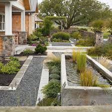 Mid Century Modern Landscaping by Mid Century Modern Garden Solidaria Garden