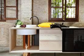 kitchen mobile islands float kitchen is made from independent mobile islands treehugger