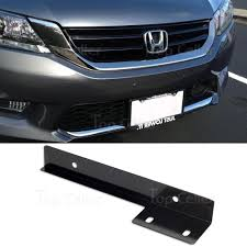 lexus f sport black steel license frame black aluminum universal fit front bumper license plate bracket