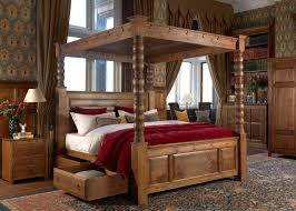 a four poster bed to add elegance goodworksfurniture