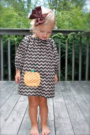 ready to ship size 2 girls long sleeve brown chevron dress with