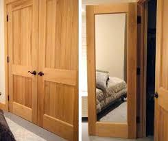 Closet Door With Mirror Wooden Closet Doors Mirror Doors Solid Wood Interior Doors With