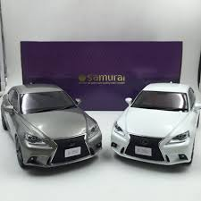 lexus sports car isf kyosho samuari lexus is f sport resin scale 1 18 in gray