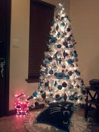 carolina panthers christmas tree keeppounding she u0027s dreaming of