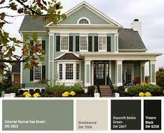 red house paint color schemes exterior paint designs exterior