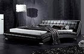 Modern Furniture Direct Atlanta King Size Designer Leather Bed - Atlanta modern furniture