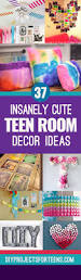 Pinterest Diy Room Decor by 37 Insanely Cute Teen Bedroom Ideas For Diy Decor Diy Room Decor