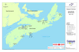 Nova Scotia Canada Map by Nova Scotia Resources The Social Economy Of Atlantic Canada