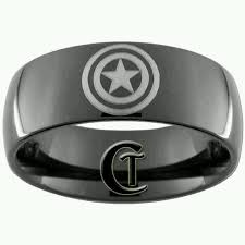 the marvels wedding band captain america mens wedding band for the hubs