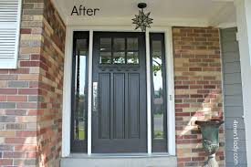 Home Depot Shutters Interior Decor Brown Wood Home Depot Entry Doors With 3 Lite For Home