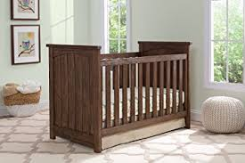 Rustic Convertible Crib Serta Northbrook 3 In 1 Convertible Crib Rustic Oak