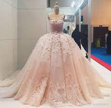 wedding gowns online big dubai wedding dresses 2018 princess coral lace bridal