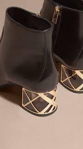 womens boots block heel best 25 burberry boots ideas on boots