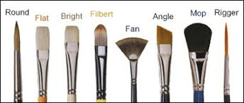 fan brush oil painting an artist s guide to oil painting brushes and the paintbrush types