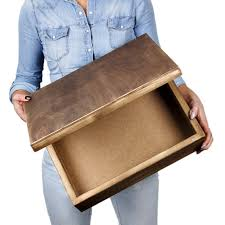 wooden photo album wooden boxes for albums in 3 different heights from 1 to 3 for wood a