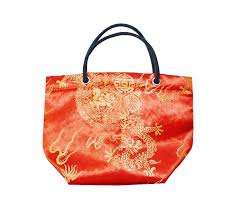 bag new year china suppliers singapore promotional gift new year orange