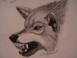 snarling wolf designs design idea
