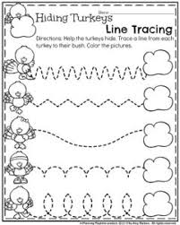 november preschool worksheets planning playtime