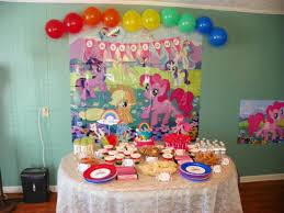 my pony centerpieces my pony rainbow party