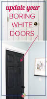 Home Interior Door by Painting Interior Doors Black High Impact Low Update Designer