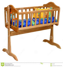 Free Wood Baby Cradle Plans by Baby Cradle Royalty Free Stock Photos Image 9399258