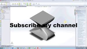 solidworks tutorial lofted boss base 2 youtube