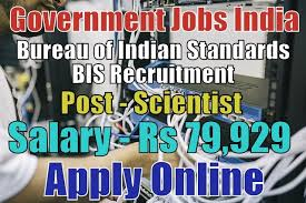 bis bureau bureau of indian standards bis recruitment 2018 government