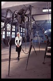 rare candid photos show louise bourgeois in her home and studio