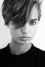 funky short pixie haircut with long bangs ideas 85 fashion best