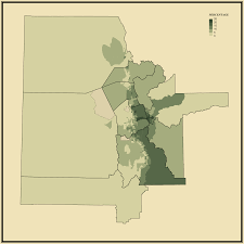 Orem Utah Map by Master U0027s Degree Statistical Atlas Of The United States