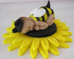 bumble bee cake toppers bumble bee cake topper with matching sunflower baby shower ideas