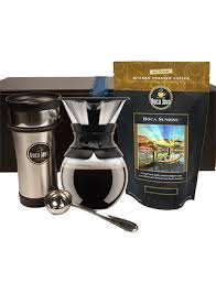 shop gourmet coffee gifts at bocajava