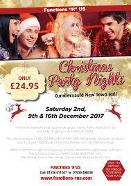 xmas party nights cumbernauld new town hall cumbernauld sat