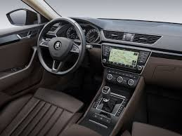 peugeot 508 interior 2016 2016 skoda superb u0027s interior revealed