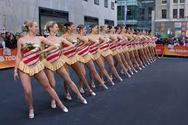 radio city rockettes halloween costume rockettes perform at rockefeller plaza on the today show 2013