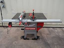 10 Craftsman Table Saw Craftsman 152 221140 10 Table Saw With Wheeled Base What U0027s It Worth