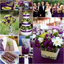 purple and lime wedding decor ideas wedding decor theme
