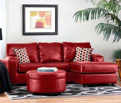 Red Ottoman Coffee Table Round Leather Ottomans With Storageround White