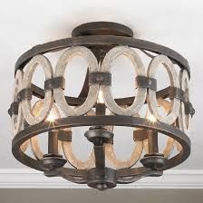 Cheap Ceiling Lights Cheap Rustic Ceiling Light Leandrocortese Info